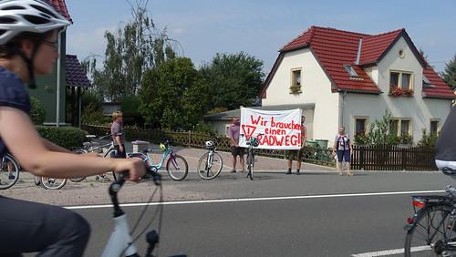Anwohner fordern Radweg an der S 31