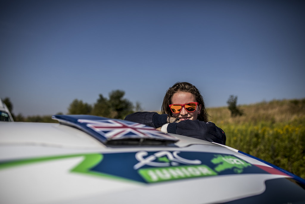 MUNNINGS Catie (GBR) STEIN Anne Katharina (AUT) Peugeot 208 R2 ambiance portrait during the 2017 European Rally Championship Rally Rzeszowski in Poland from August 4 to 6 - Photo Gregory Lenormand / DPPI