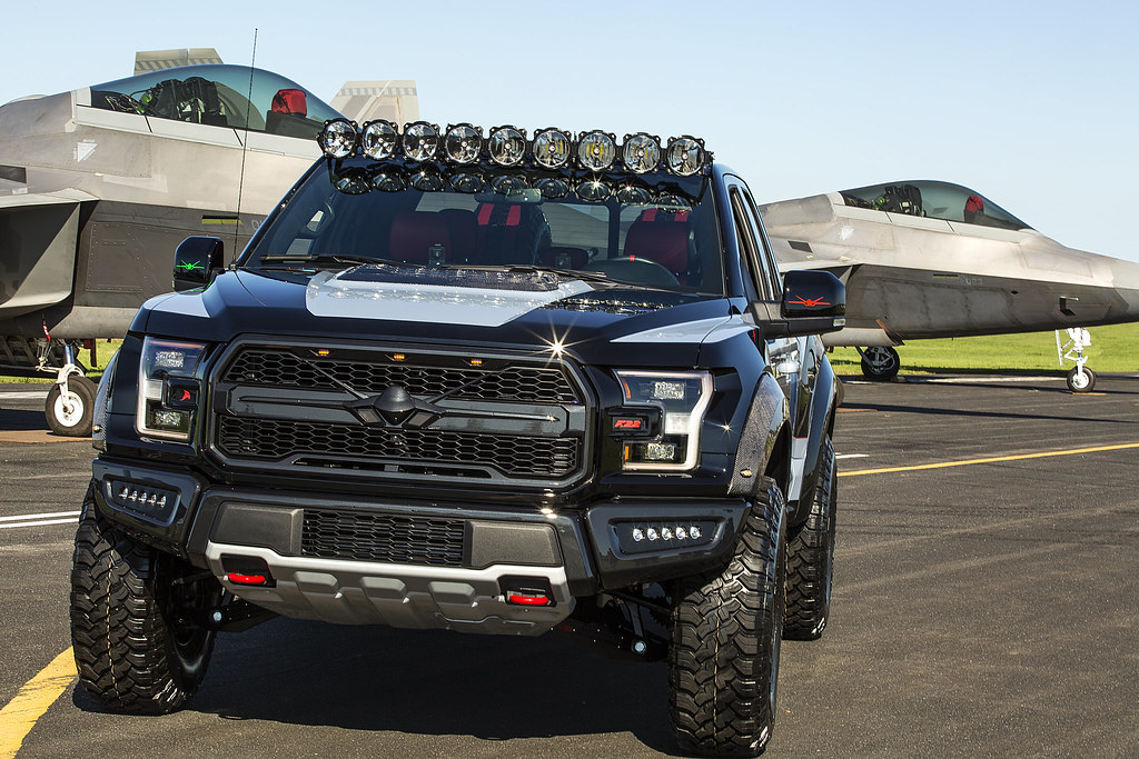 F-22 fighter jet inspires one-of-a-kind high-performance Ford F-22 F-150 Raptor