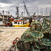 Arbroath lobster pots