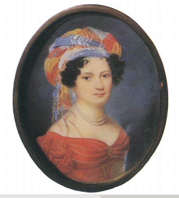 П.О. Росси, 1824, неизвестная