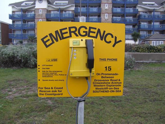 In Emergency dial 999
