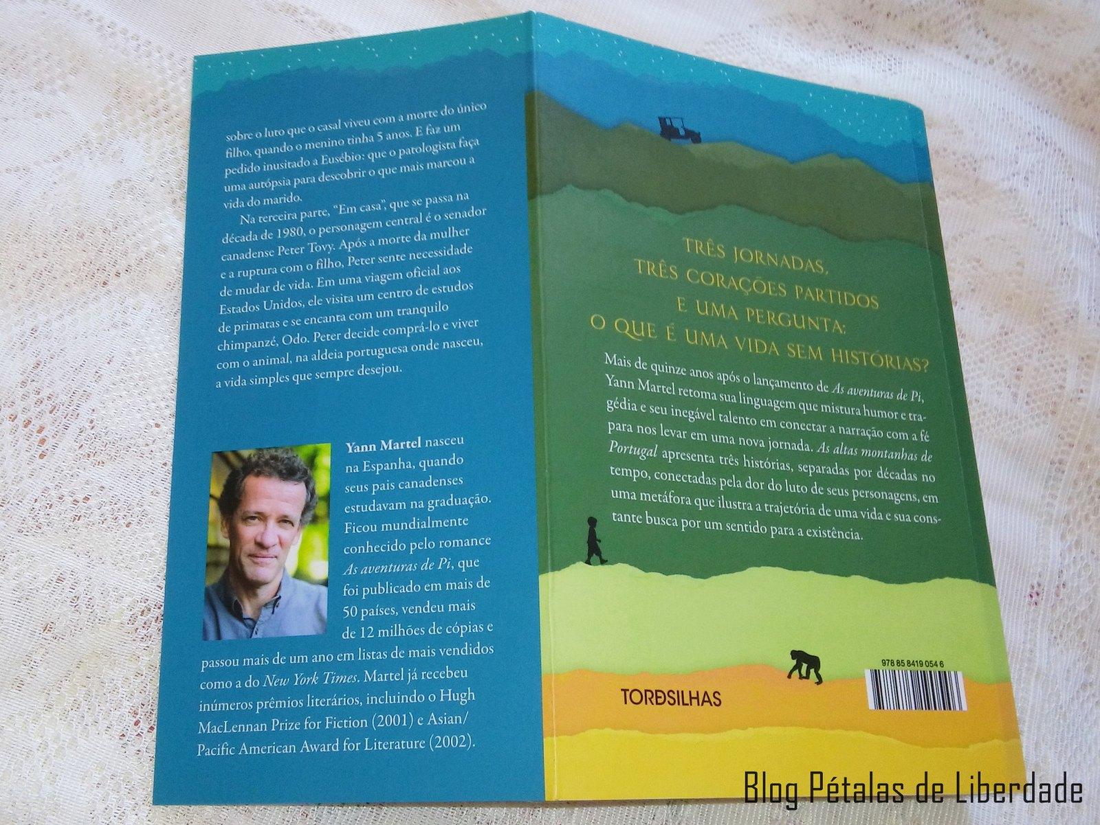 Resenha, livro, As-Altas-Montanhas-de-Portugal, Yann-Martel, editora-tordesilhas, opiniao, critica, comprar, sinopse, fotos, imagem, capa, diagramação, trecho,  yann-martel, portugal