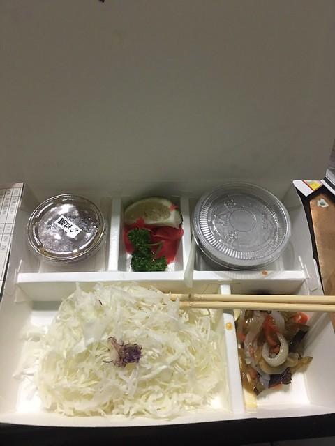 福勝亭的外帶餐盒之配菜篇