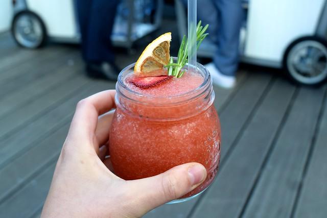 Gin Mare Strawberry Frose | www.rachelphipps.com @rachelphipps