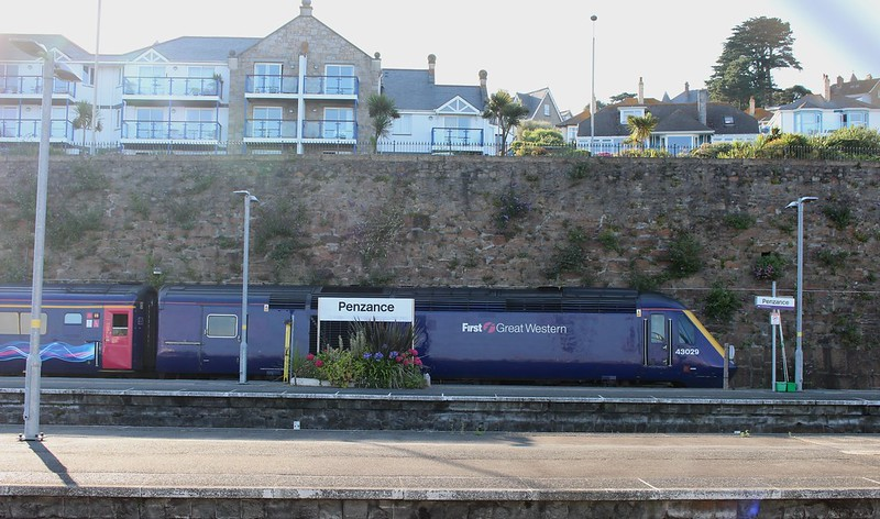 High Speed Train at Penzance