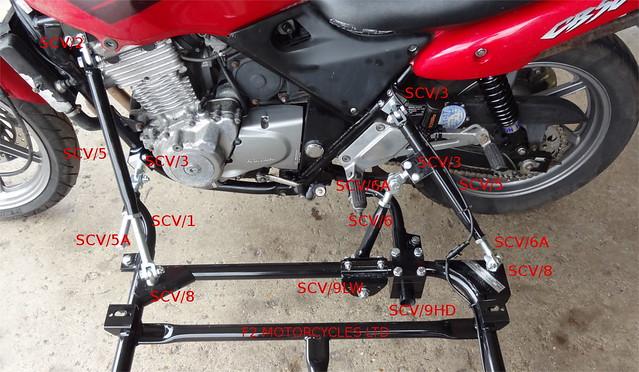 Honda CB500 sidecar