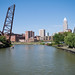 Cleveland from Center Street Bridge...