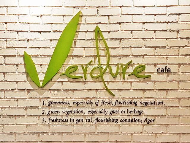 Verdure Cafe Signage