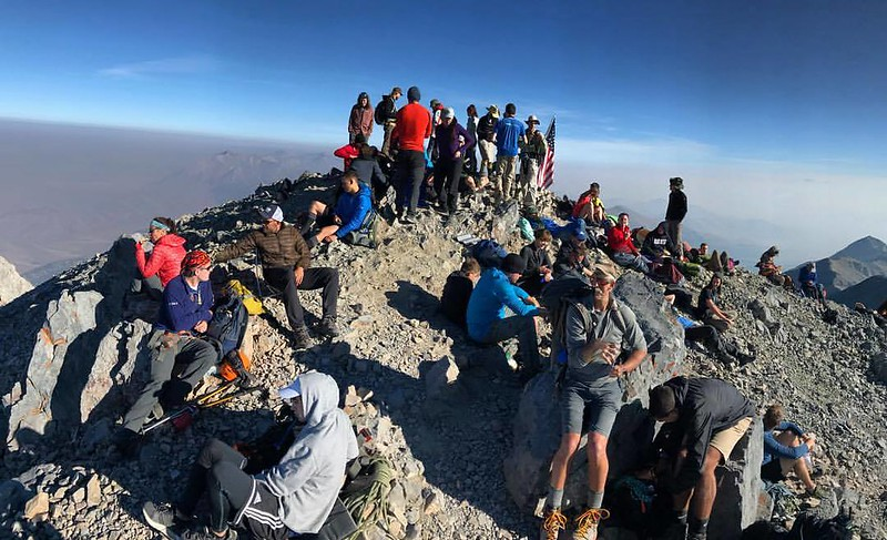 Borah Summit - Credit Sawtooth Mountain Guides