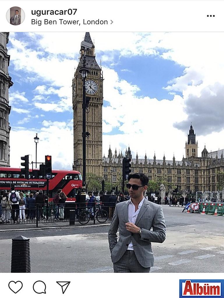 Bankacı Uğur Acar iş seyahati için gittiği Londra'dan bu fotoğrafı paylaştı.