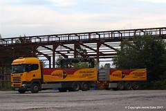 Eddie Stobart M709 - EU17UXX - CANUTE - Shepton Mallet Torr Depot 14.08.17 (2)