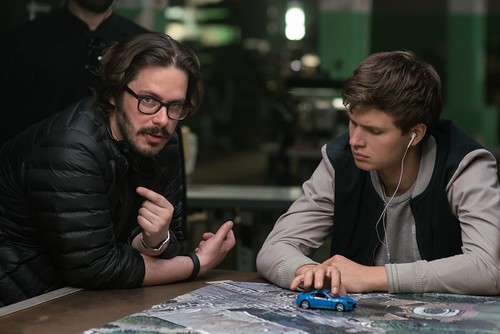 Baby Driver - backstage