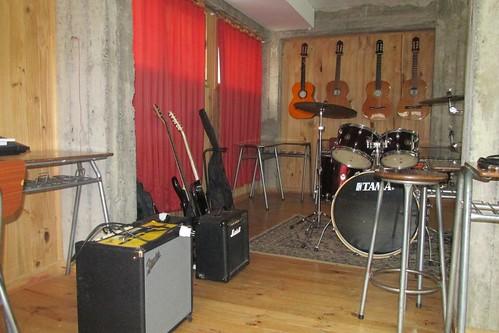 Implementación sala de música