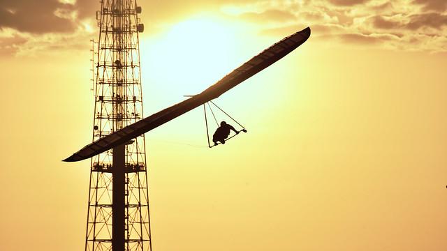 Asa Delta, Torre e Por-do-sol de Brasília