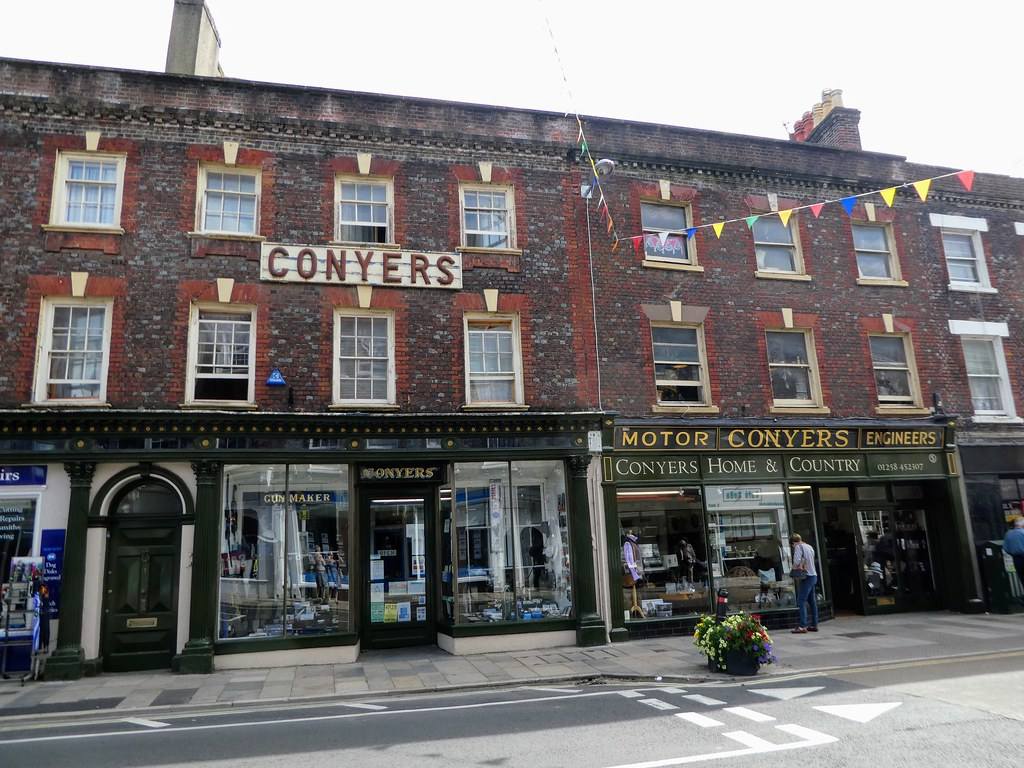 Conyers has been trading in Blandford Forum since 1886
