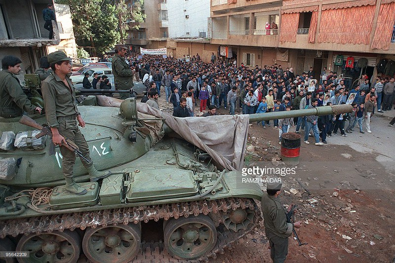 T-55-syrian-soldiers-oversee-hizballa-march-beirut-19900112-gty-1