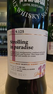 SMWS 9.125 - Strolling in paradise