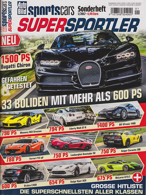 Auto Bild Sportscars - Supersportler 1/2017