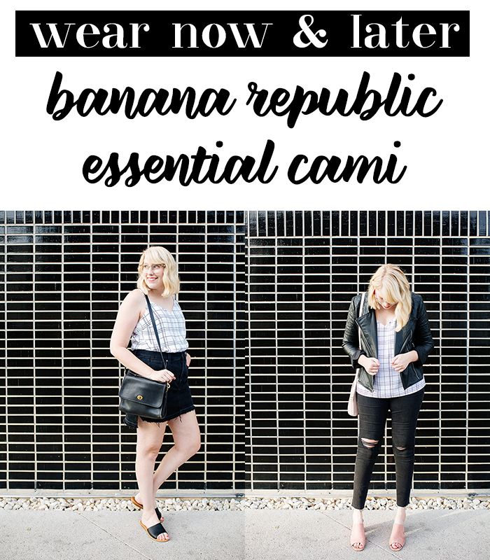 banana republic essetial cami