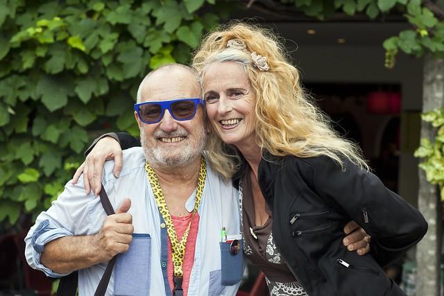 Christine Lauterburg und Clemens Klopfenstein