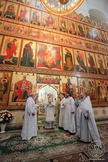 Литургия в Хутынском монастыре 425