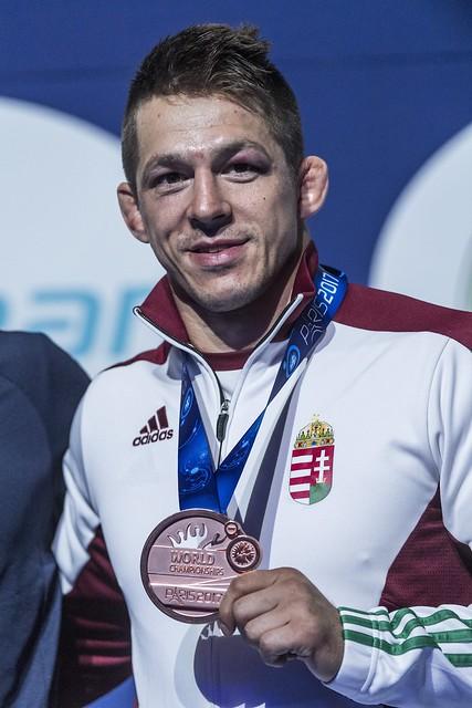 Birkózó-vb - Lőrincz Tamás bronzérmes