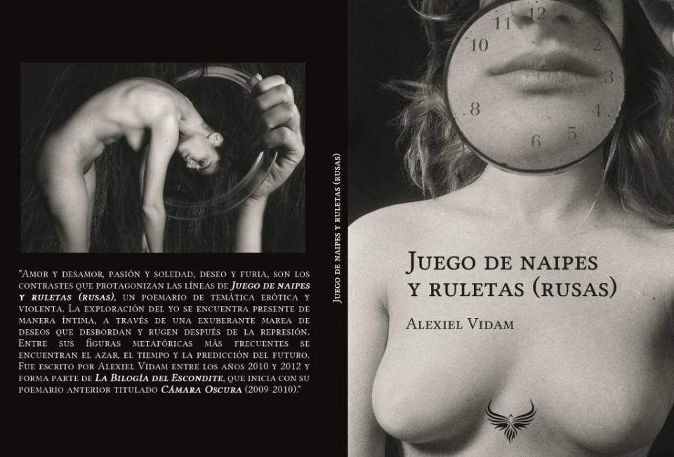 """Alexiel Vidam vuelve a la escena literaria con """"Juego de naipes y ruletas (rusas)"""""""