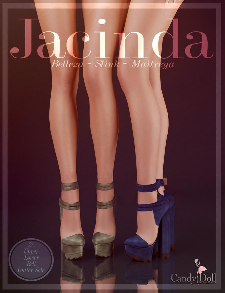 Jacinda Heels - TeleportHub.com Live!