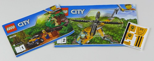 LEGO City Jungle 60158 Jungle Cargo Helicopter 03
