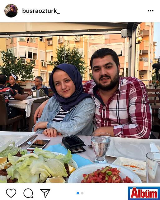 Büşra Öztürk, Haydar Usta Ocakbaşı'nda abisi Ahmet Öztürk ile birlikte keyifli bir akşam geçirdi.