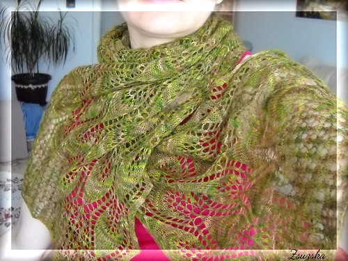 winterleaves, knitting, shawl, (2)