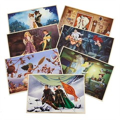 2017 Disney Designer Collection Lithograph Set - Limited Edition - US Disney Store Product Image #1