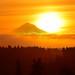 Mount Hood Sunrise by Darrell Wyatt