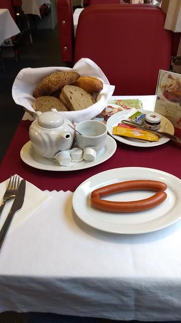 Frühstück CD-Speisewagen