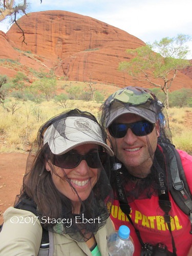 Wear something new for the first time - flynets at Uluru, Australian Outback. From Through the Eyes of an Educator: The Beginning