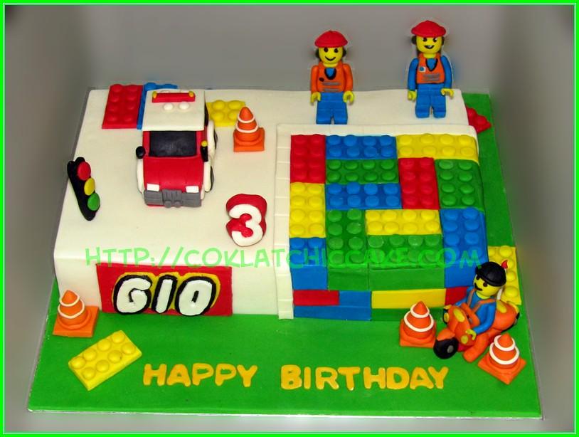 cake lego city
