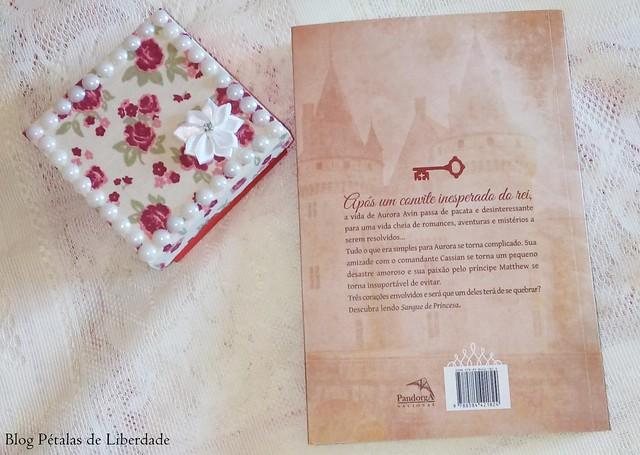 Resenha, livro, Sangue de princesa, Mayrluci M. Kappes, Pandorga, fotos, capa, diagramação, trecho, opiniao, critica, sinopse