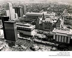 empire state plaza /  south mall construction  may  1970  albany ny