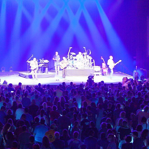 #TBT to when the ARC was transformed for our personal Barenaked Ladies concert during the kickoff celebration for Forever Valpo: The Campaign for Our Future! Nearly a year ago, Valpo launched our most ambitious campaign ever during Homecoming weekend wit