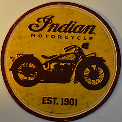 Indian Motorcycles Sign