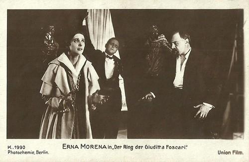 Erna Morena in Der Ring der Giuditta Foscari (1917)