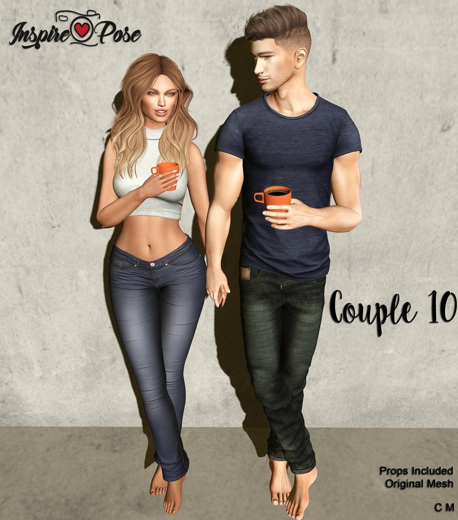 Inspire Pose - Couple 10 - SecondLifeHub.com