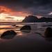 uttakleiv sunset by Dennis_F