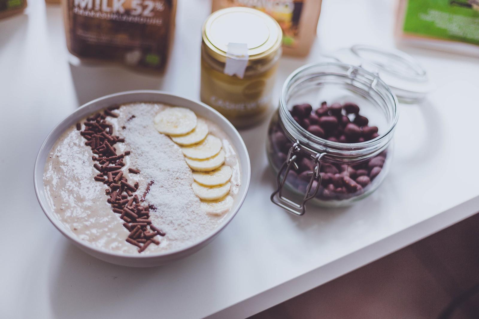 bananza smoothie bowl