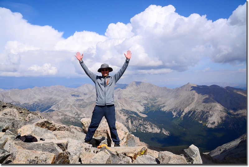 Taken from the summit of Mount Yale 2