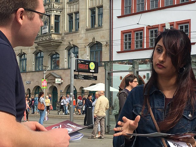 2017-02-September-LEAFLETING-Mission Propagation in Erfurt, Germany
