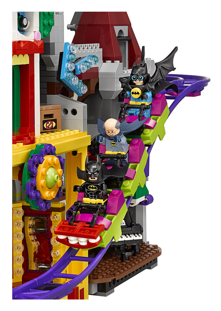 集話題性、震撼力、娛樂度於一身的超有趣盒組!!LEGO 70922 樂高蝙蝠俠電影【小丑莊園】The LEGO Batman Movie The Joker Manor
