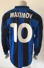 Yuriy Maximov, SV Waldhof Mannheim 07, match worn shirt