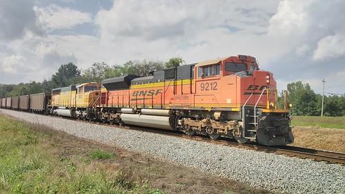 NS Coal Train Near Courtland AL.